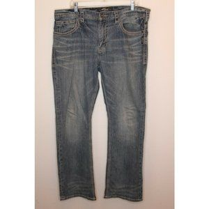 Silver Jean Men's Denim Straight Leg Jeans